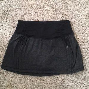 Light weight workout skirt